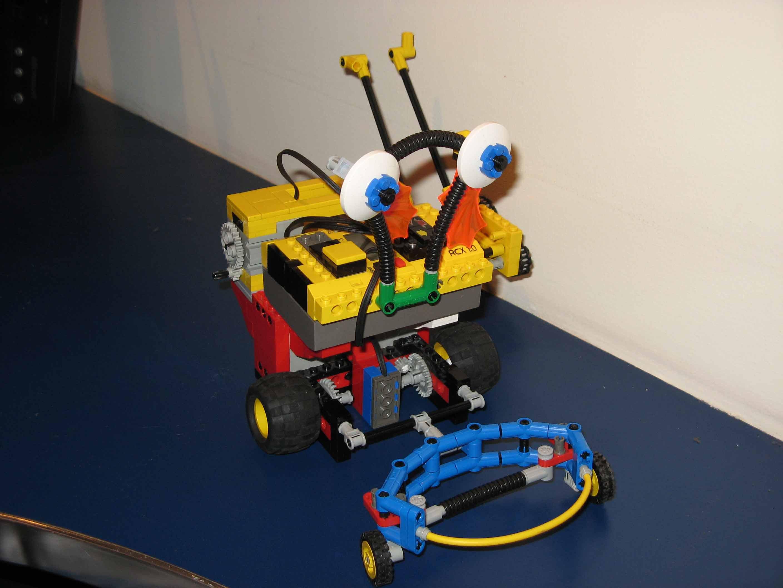 Exemple de cocréation : Lego Mindstorm NXT (1ère partie)
