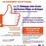 1ère Rencontre inter Grandes Écoles à Rennes sur le thème des Réseaux Sociaux